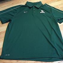 Nike Dri Fit University of Baylor Bears Coaches Polo - Size Xxl Photo