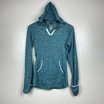 Nike Dri-Fit Women's Element Running Hoodie Sweatshirt in Teal Size Xsmall Photo