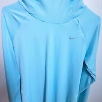 Nike Dry Element Running Hoodie Women's Pullover Top 685818-437 Medium Photo