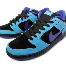 Nike Dunk Low Pro Sb Skeletor 9 Aqua Black Blue Varsity Purple Baltic Concord Photo