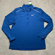 Nike Element 3.0 Running 1/2 Zip Size Xl Bv4721 452 Photo