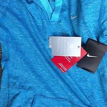 Nike Element Dri Fit Hoodie New With Tags Small Turquoise Photo