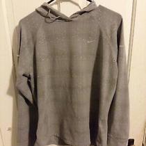 Nike Element Dri-Fit Top Long Sleeve Pullover Shirt Women's Xl Grey Photo