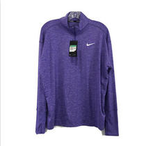 Nike Element Half Zip Dri Fit Long Sleeve Running Top Size Xl Photo