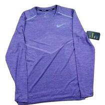 Nike Element Nxn Women's Running Top Long Sleeve Shirt Size Small Marathon  Photo