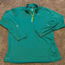 Nike Element Running Dri-Fit Green Long Sleeve Athletic Shirt Size Xl Xlarge Photo