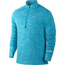 Nike Element Sphere Hz Mens Imperial Blue 1/4 Zip 683906 408 L Large Training Photo