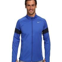 Nike Element Thermal Full Zip Size L Game Royal/obsidian/reflective Silver Photo