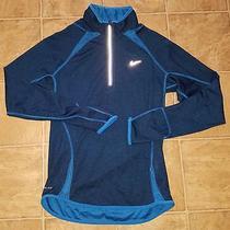 Nike Element Wool Sz S Men's Half-Zip Reflective Running Shirt Photo