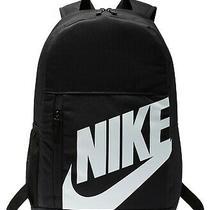 Nike Elemental 2.0 Backpack Black/white Ba5876-082 New Photo