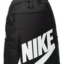 Nike Elemental 2.0 Backpack Black White Ba5876 082 School Bag Pack Photo