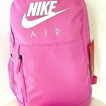 Nike Elemental 20l & Pencil Pouch Backpack Bag Pink School Set Nwt Photo