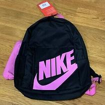 Nike Elemental Backpack Black Pink Girls Kids Unisex Photo