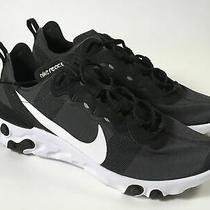 Nike Epic React Element 55 Mens Size 9.5 Black Running Shoes Photo