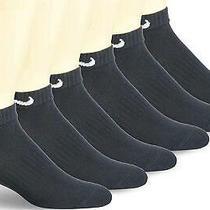 Nike Everyday Cushion Low Training Socks Unisex Nike Black/white Size Large Photo