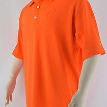 Nike Fit Dry Men's Orange Miami Dolphins Golf Polo Shirt Stretch  Sz Xl Photo
