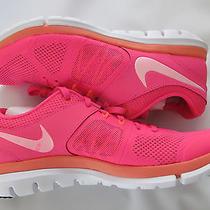 Nike Flex Run Women's Running Shoes Pink Size 7 Photo