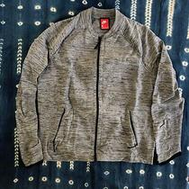 Nike Flyknit Gray Warmup Top Jacket Size Large Photo