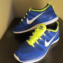 Nike Flyknit Lunar1 Game Royal Men Run Shoe Size 11.5 Photo