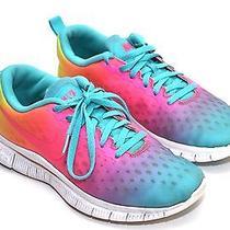 Nike Free Express 5.0 Kids Purple Pink Volt Training Running Shoes Sz 5y 641866 Photo