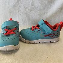 Nike Free Express Infant/toddler Boys Blue/crimson Shoes--Size 7 C Photo