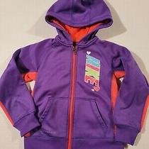 Nike Girls Hooded Sweatshirt Size 4 Euc Photo