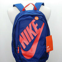 Nike Hayward Futura 25l Backpack Blue/red Unisex Ba5217-492 New With Tags Photo