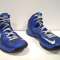 Nike Hyperdisruptor Men's Shoes Size 13 Blue Basketball Athletic Photo