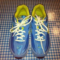 Nike Initiator Woman's Running Shoe- Size 8.5 -Color Blue Glow/high Voltage Photo