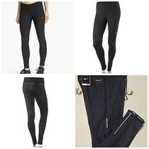 Nike Lady Element Thermal Running Tights 596452 010 Sz Large Nwt 75.00 Black Photo