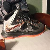 Nike Lebron 10 Lava Photo