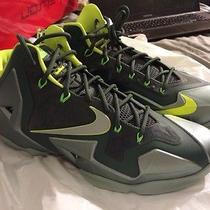 Nike Lebron James 11 Xi Dunkmans Mica Green Ds Deadstock New Sz. 10.5 Free Ship Photo