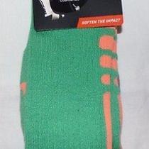 Nike Lebron James Dri-Fit Elite Basketball Socks Men's Size Large 8-12 Green Nwt Photo