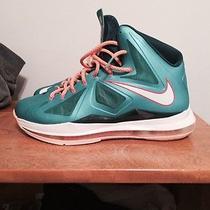 Nike Lebron X 10 Green Dolphin 10.5 Photo