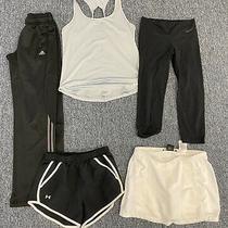 Nike Leggings Womens Size Small Tempo Shorts Skort Adidas & Under Armour Lot Photo