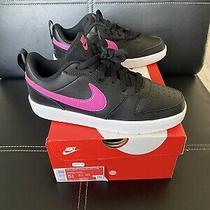Nike Low 2 Sneakers Girls Youth Size 5.5y Black Pink Photo