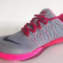 Nike Lunar Cross Element Women's Grey/pink Training Shoes 653528-003 Photo