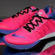 Nike Lunar Cross Element Women's Running Shoes 653528-600 Pink Pow New Size 11  Photo