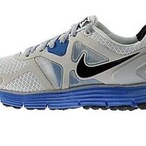 Nike Lunarglide 3 Gray Black & Blue Sneakers - Mens Size 9 Photo