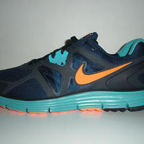 Nike Lunarglide 3 Running Shoes Sz 11 Navy Blue/aqua/orange New in Box Photo