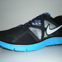 Nike Lunarglide 3  Shoes Sz 11 Boston Marathon City Pack Black Aqua Purple New Photo