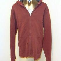 Nike Maroon Men's Medium Acg Full Zip Sherpa Lined Hoodie Sweatshirt Photo