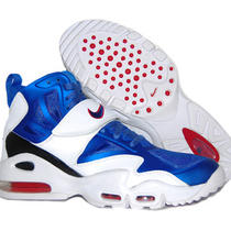 Nike Men's Air Max Express White/royal Blue Gym Red Ny Giants 525224-100 Sz 11 Photo