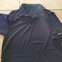 Nike Men's Coaches' Golf Polo - Navy M Photo