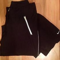 Nike Men's Dri-Fit Black Athletic Pants  Size M Photo