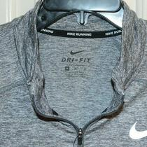 Nike Men's Element Dry Fit 1/2 Zip Running Top Gray Sz M  Aq7903 Nwt  Photo
