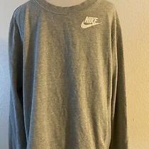 Nike Men's Element  Running Crew Long Sleeve Black & Grey Shirt Xl Photo