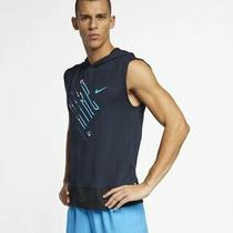 Nike Mens Element Sleeveless Running Top Aj7586-451 Size Large Photo