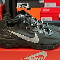 Nike Men's React Element 55 Se Sneakers - Black/anthracite Bv1507-002 Size 9.5 Photo
