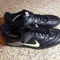 Nike Men's Soccer Cleats  Black/white/ Mens Size 13 M. Ked Photo